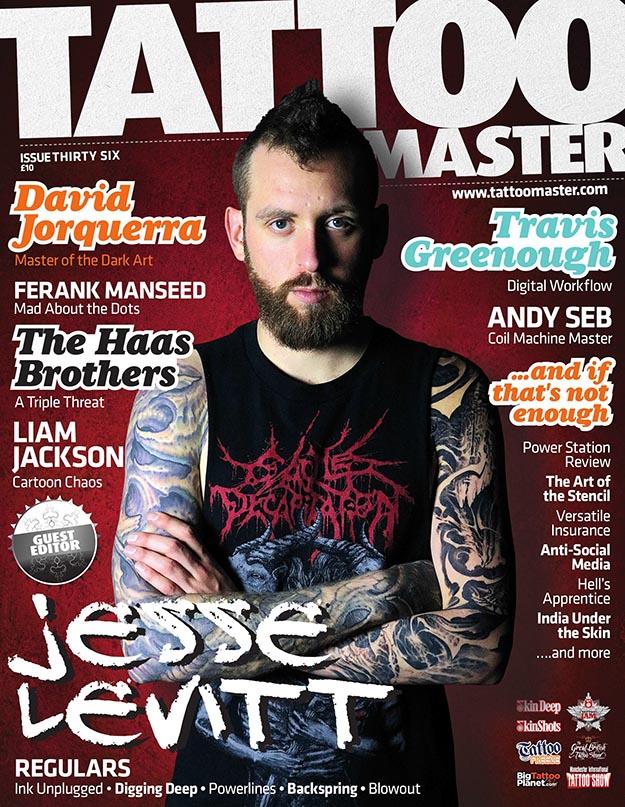 2019年8月Tattoo Master杂志 纹身大师PDF电子杂志下载
