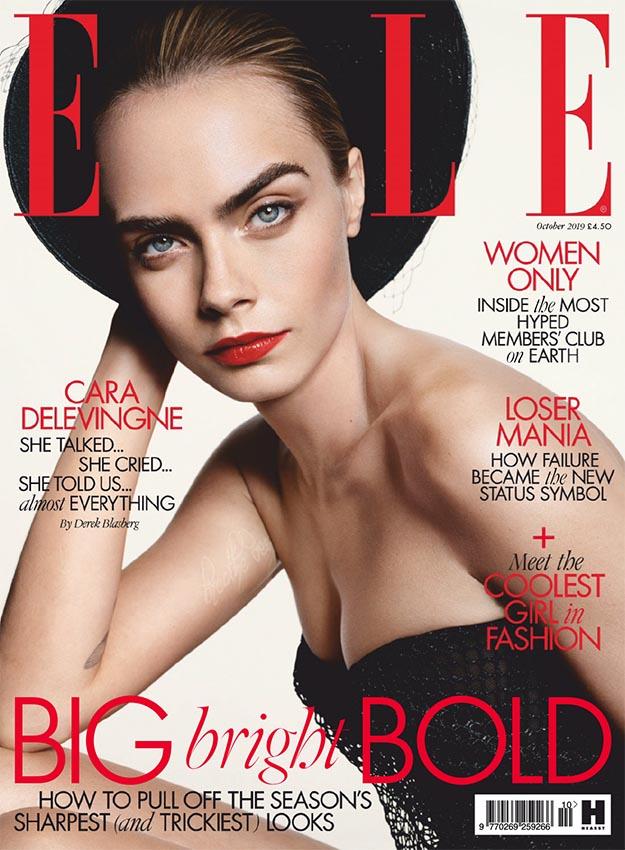 2019年10月ELLE杂志英国版PDF电子杂志下载