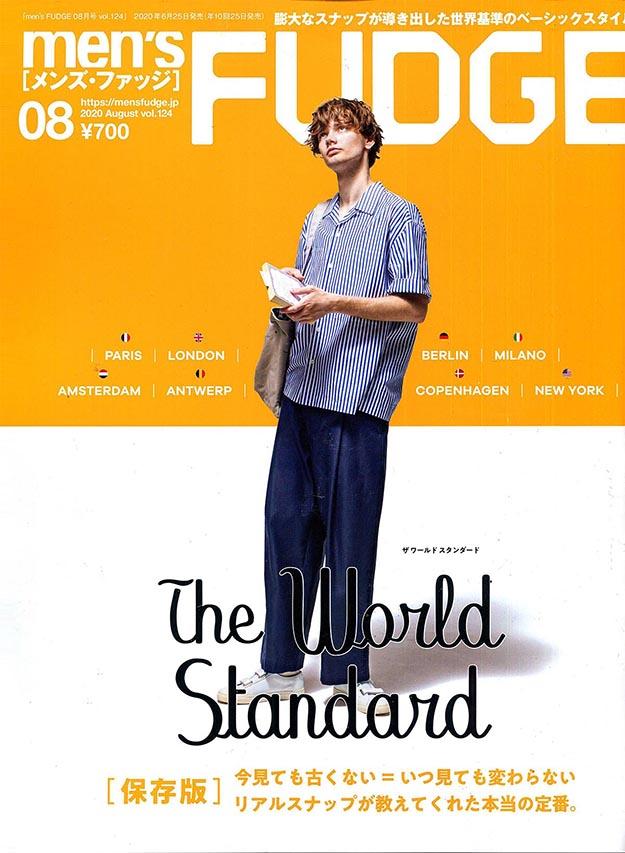 2020年8月men's fudge PDF电子杂志下载