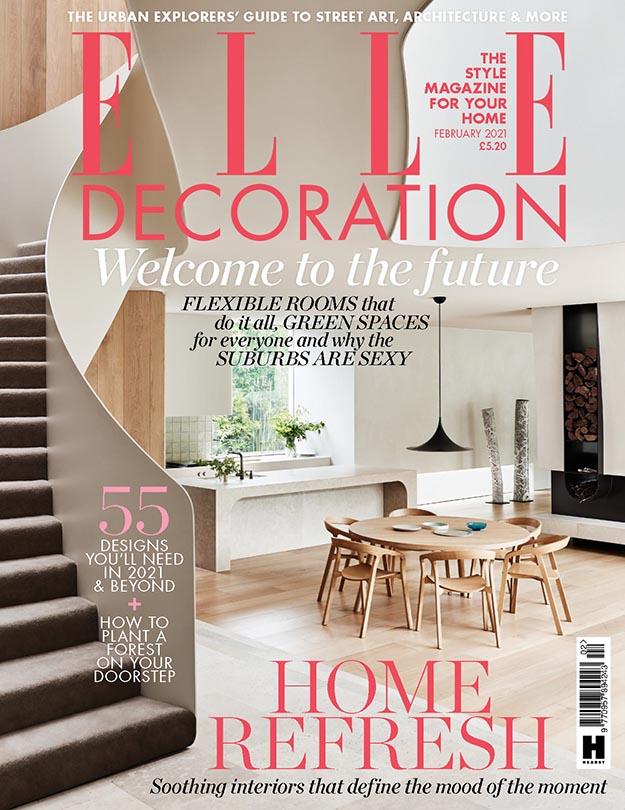 2021年2月Elle Decoration英国版 英国室内设计杂志下载
