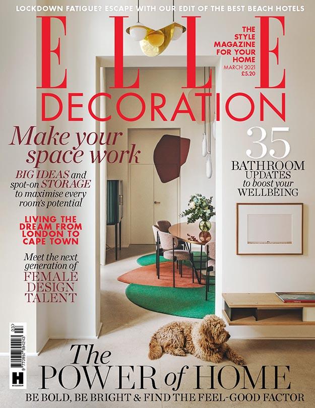 2021年3月Elle Decoration英国版 英国室内设计杂志下载