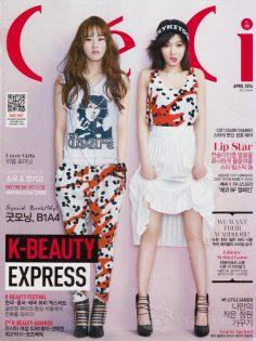 2014年4月韩国ceci杂志韩文PDF电子杂志下载
