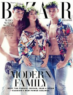 2018年1月Harper's Bazaar新加坡版英文PDF电子杂志下载