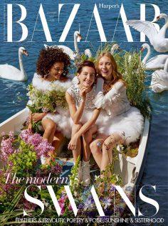 2019年8月时尚芭莎Harper's Bazaar英国版PDF电子杂志下载