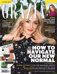 2020年4月GRAZIA杂志英国版PDF电子杂志下载 红秀英国版下载
