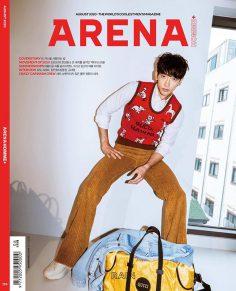 2020年8月arena PDF电子杂志下载 韩国男装杂志下载