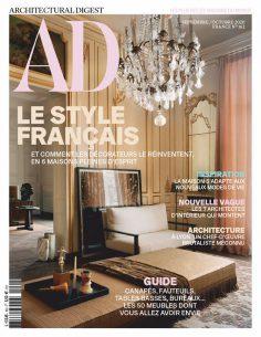 2020年9月Architectural Digest法国版 法国建筑设计杂志下载