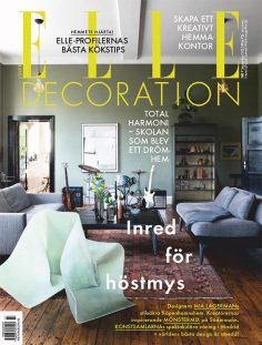 2020年9月Elle Decoration瑞典版 瑞典室内设计杂志下载