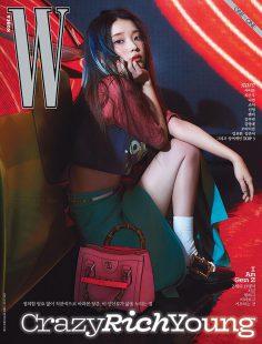 2021年4月W 韩国版 PDF电子杂志下载