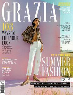 2021年8月Grazia英国版 PDF电子杂志下载