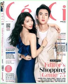 2014年8月ceci杂志韩文版